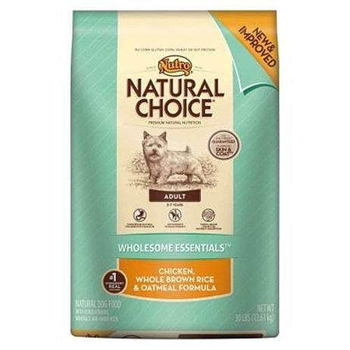 Nutro Natural Choice Chicken Rice Oatmeal Pet Food Ratings