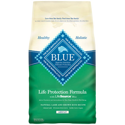 Blue Buffalo Adult Dry Dog Food Lamb & Brown Rice 6 lb