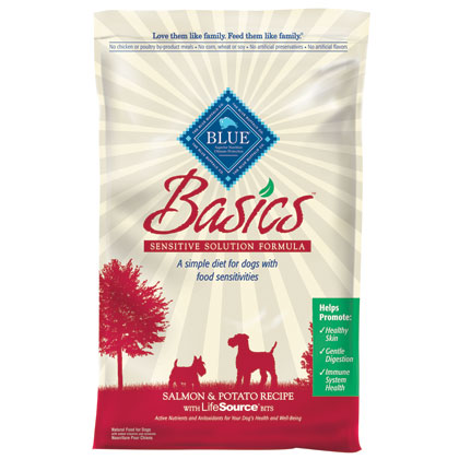 Blue Buffalo Basics Dry Dog Food Salmon & Potato 24 lb bag