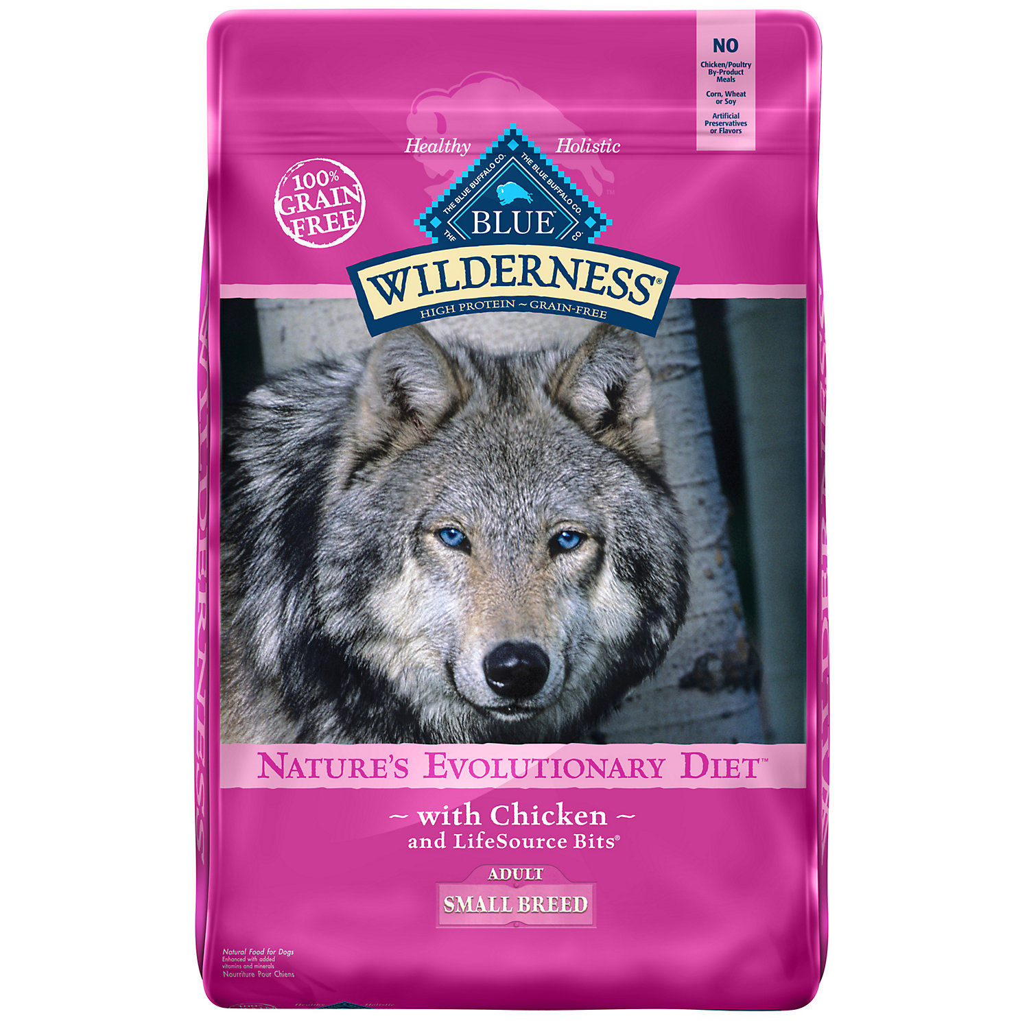 Blue Buffalo Blue Wilderness Small Breed Adult Chicken Recipe Dry Dog Food