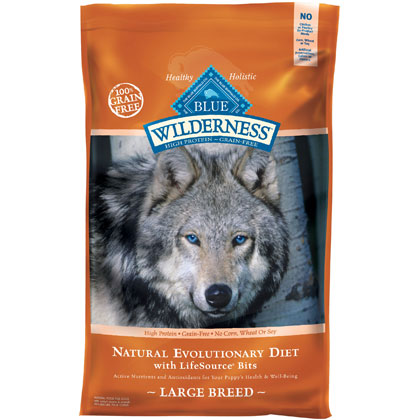 Blue Buffalo Wilderness Large Breed Dry Dog Food 24 lb