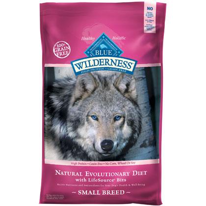 Blue Buffalo Wilderness Small Breed Dry Dog Food 11 lb