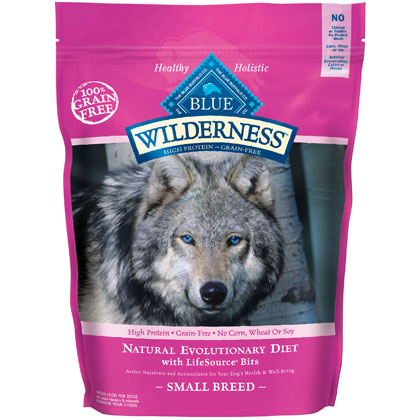 Blue Buffalo Wilderness Small Breed Dry Dog Food 4.5 lb