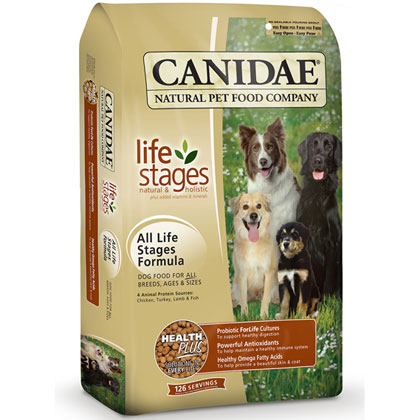 Canidae Dog Food: All Life Stage Formula Dry Food 44 lb