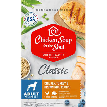 Chicken Soup for the Dog Lover's Soul Adult Dog Dry Food 28 lbs