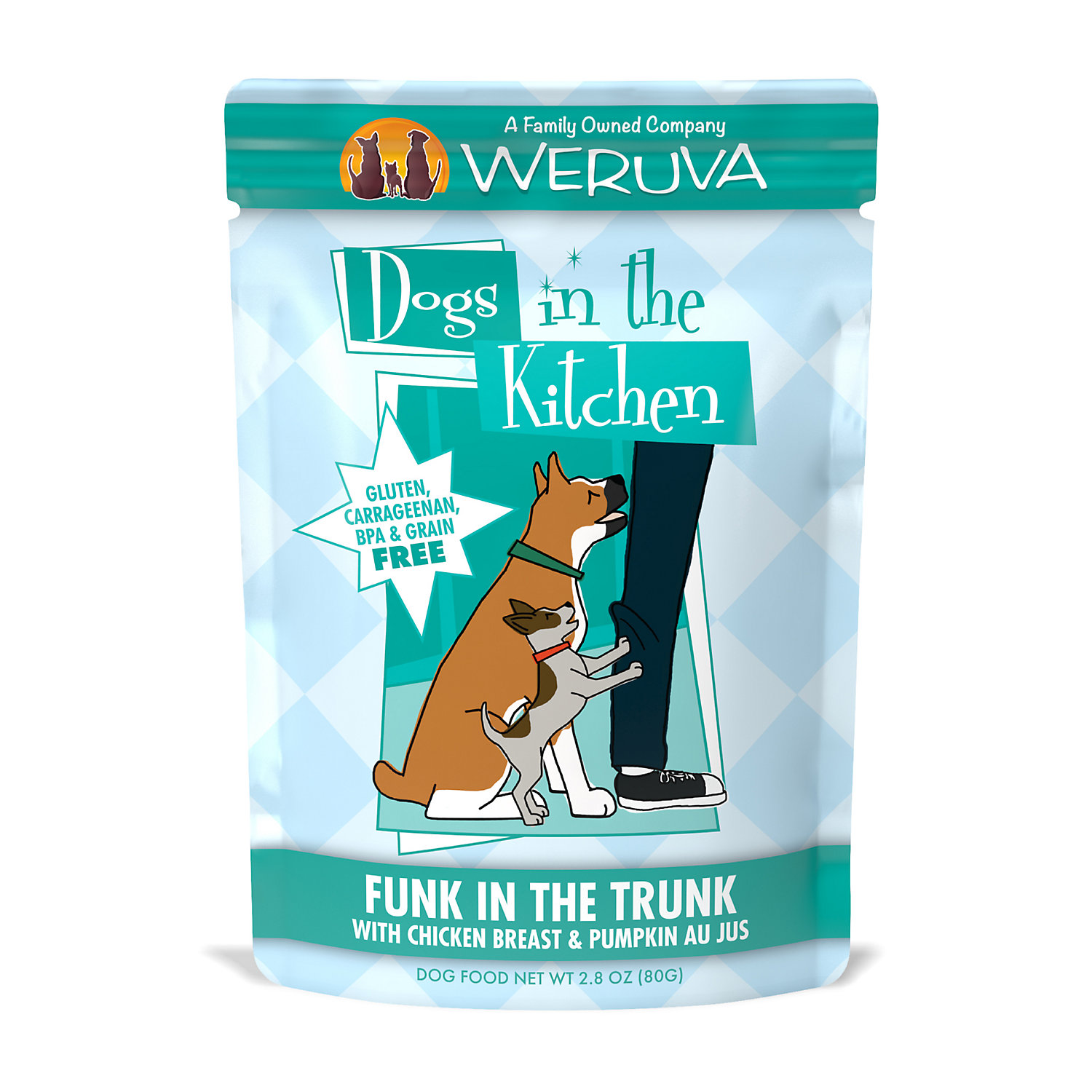 Dogs in the Kitchen Funk in the Trunk with Chicken Breast & Pumpkin Au Jus Wet Dog Food Pouches