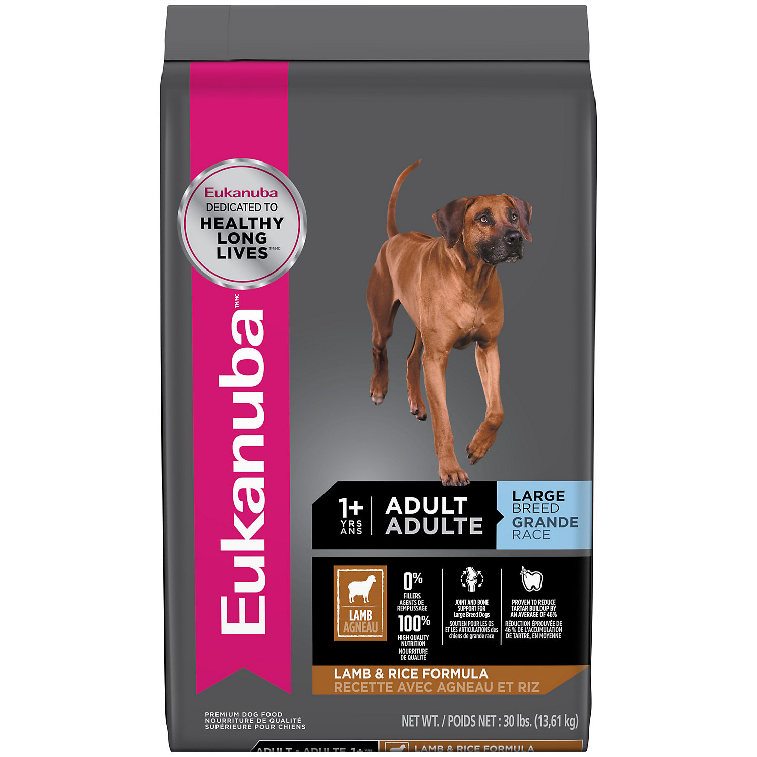 Eukanuba Adult Large Breed Lamb and Rice Formula Dry Dog Food
