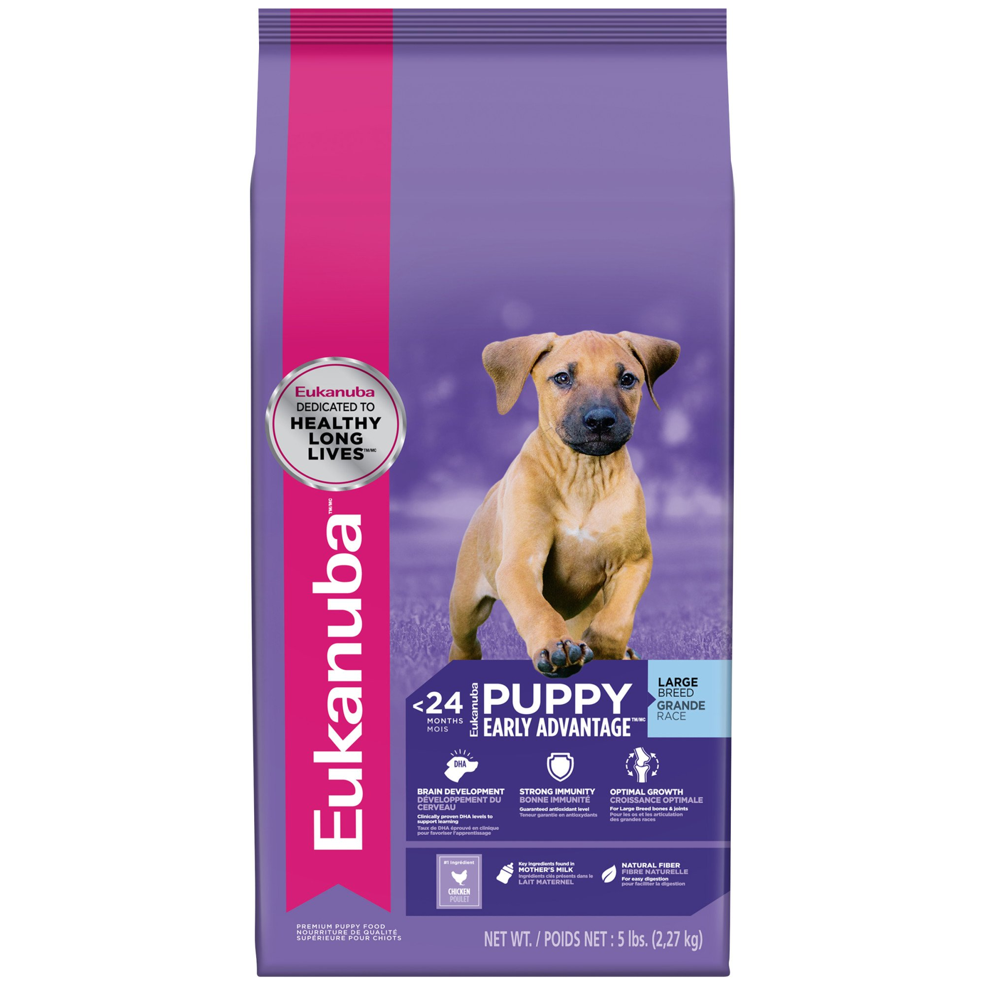 Eukanuba Puppy Early Advantage Large Breed Dry Dog Food, 5 lbs.