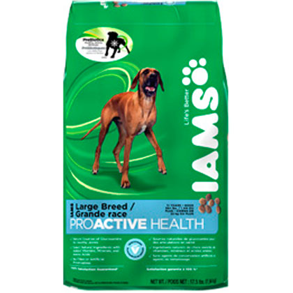 Iams ProActive Health Adult Large Breed Dry Dog Food 15 lb
