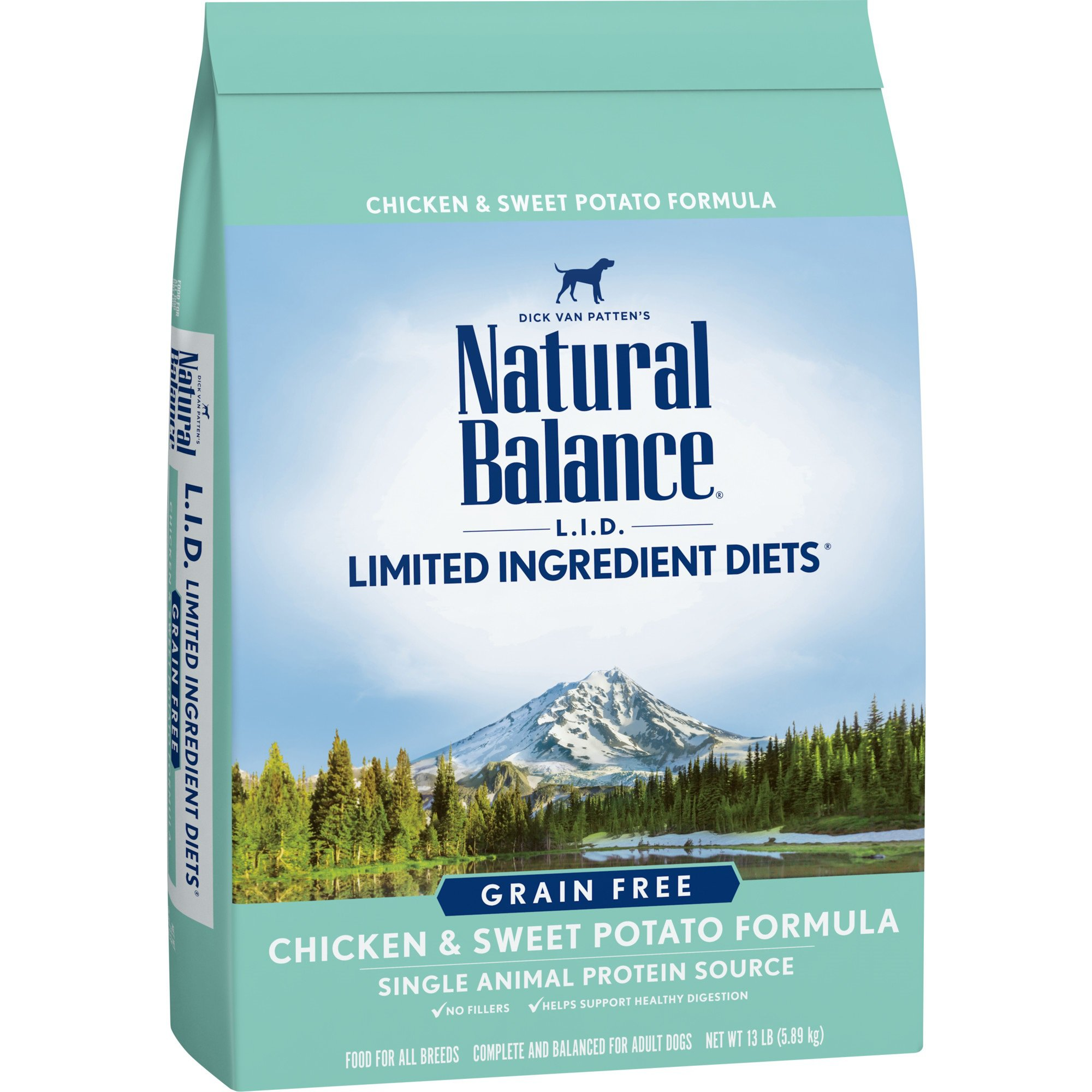 Natural Balance L.I.D. Limited Ingredient Diets Chicken & Sweet Potato Dog Food, 13 lbs.