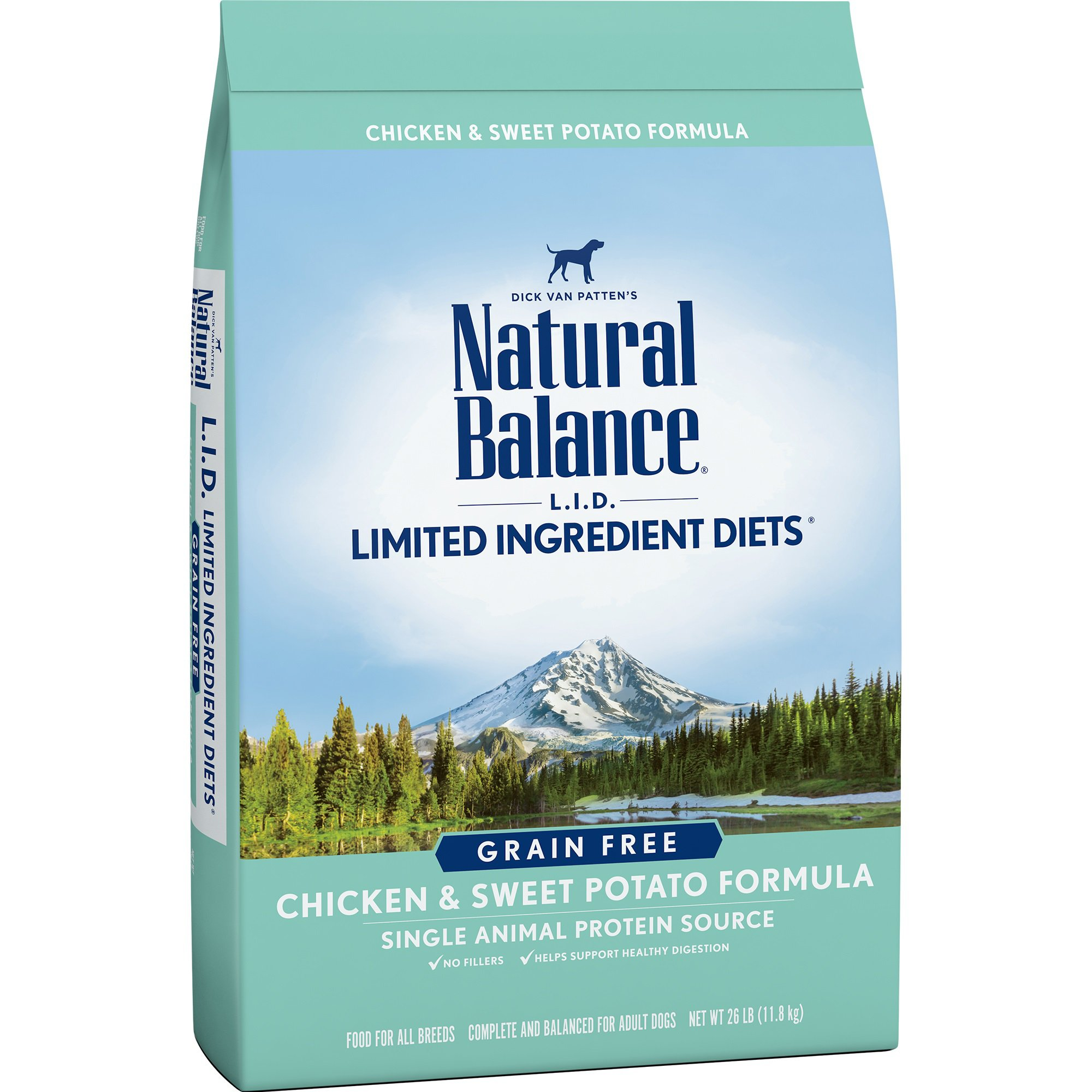 Natural Balance L.I.D. Limited Ingredient Diets Chicken & Sweet Potato Dog Food, 26 lbs.