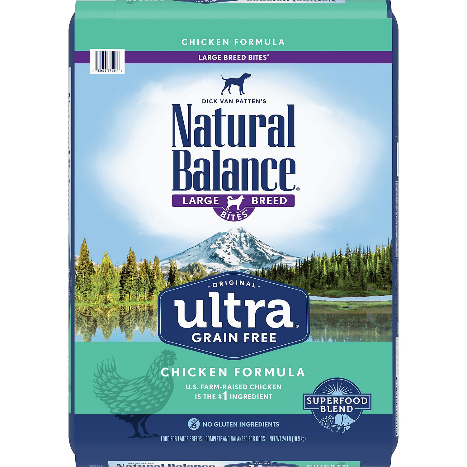 Natural Balance Ultra Grain Free Large Breed Chicken Dry Dog Food