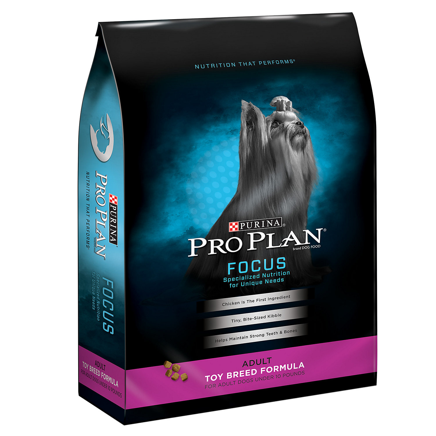 Purina Pro Plan Focus High Protein Toy Breed Formula Dry Dog Food