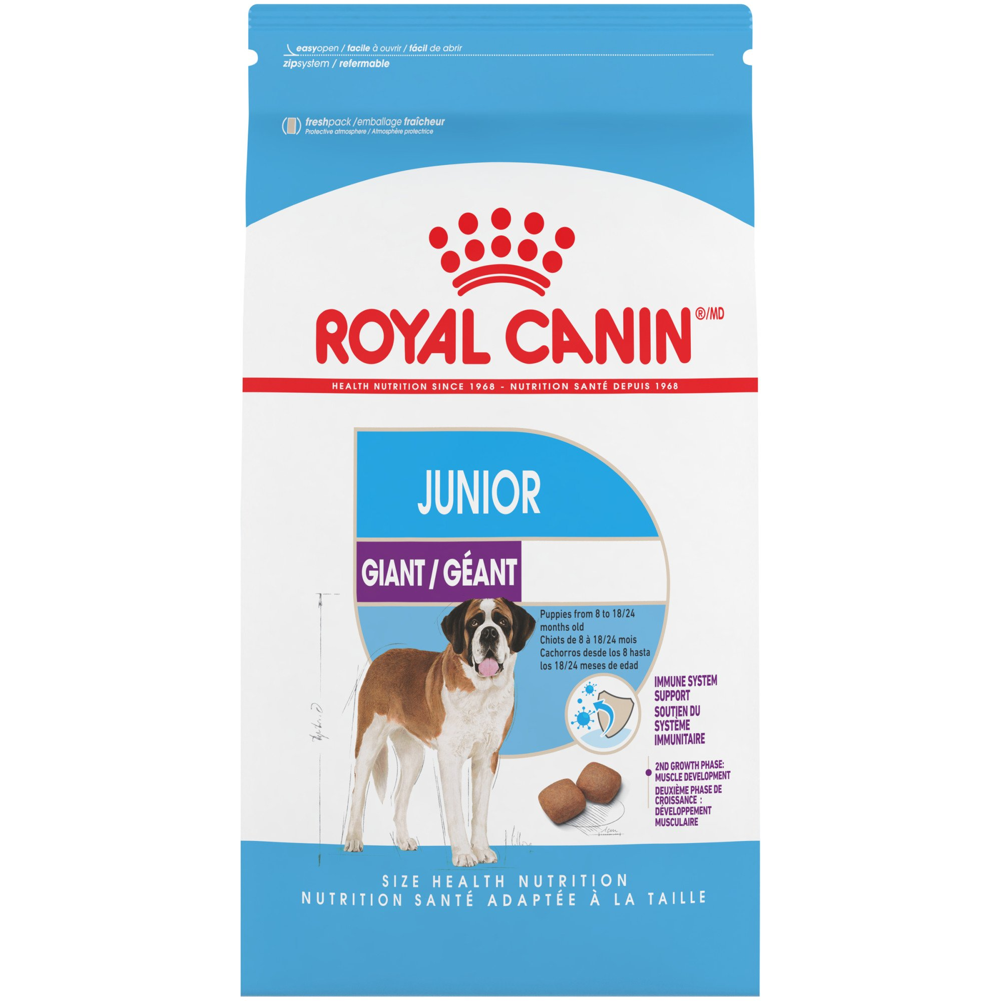 Royal Canin Giant Junior Dry Puppy Food, 30 lbs.