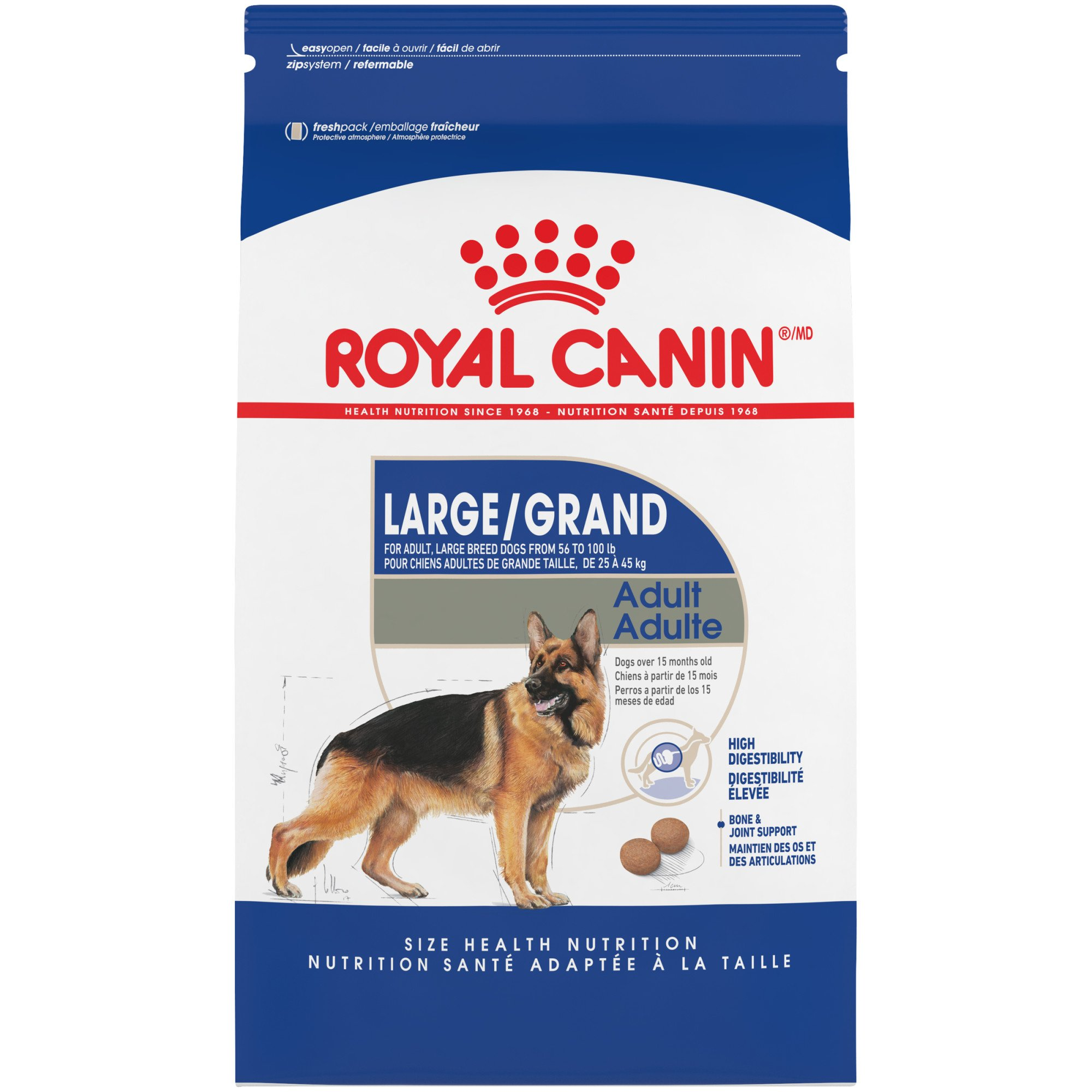 Royal Canin Size Health Nutrition Maxi Adult Dry Dog Food, 6 lbs.