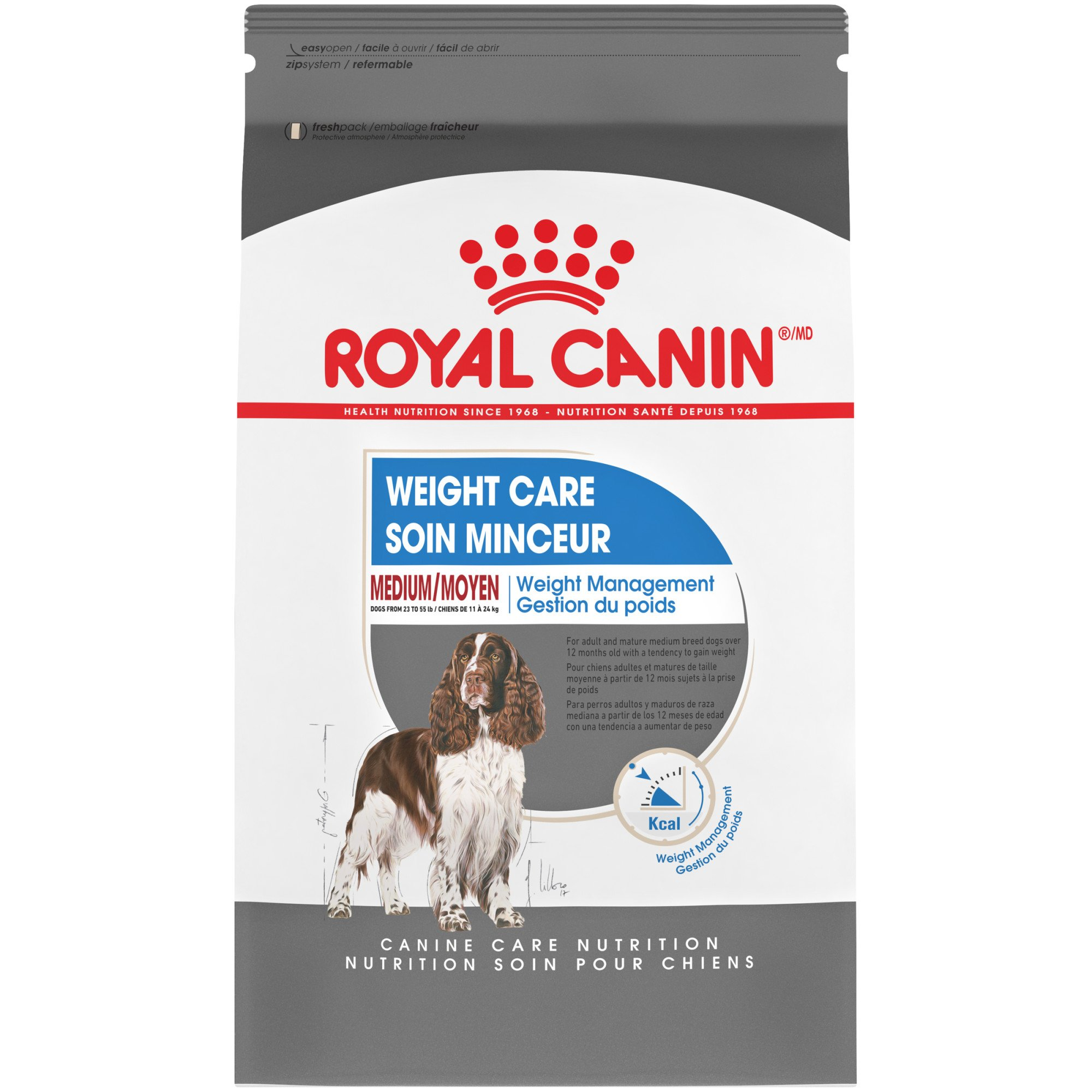 Royal Canin Size Health Nutrition Medium Weight Care Dry Dog Food, 17 lbs.