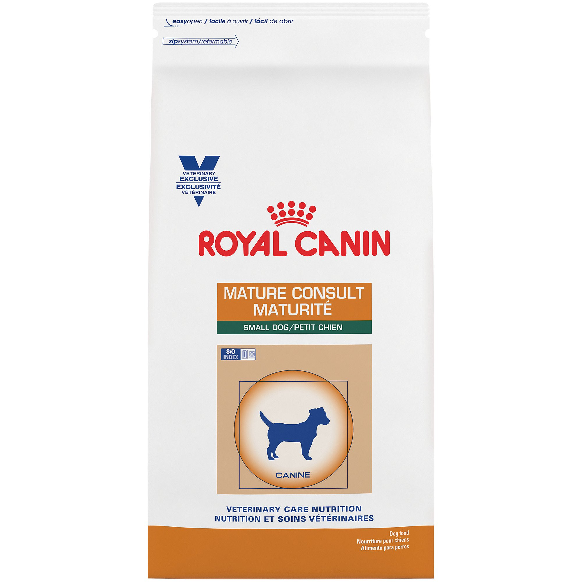 Royal Canin Veterinary Care Nutrition Canine Mature Consult Small Dog Dry Dog Food, 7.7 lbs.