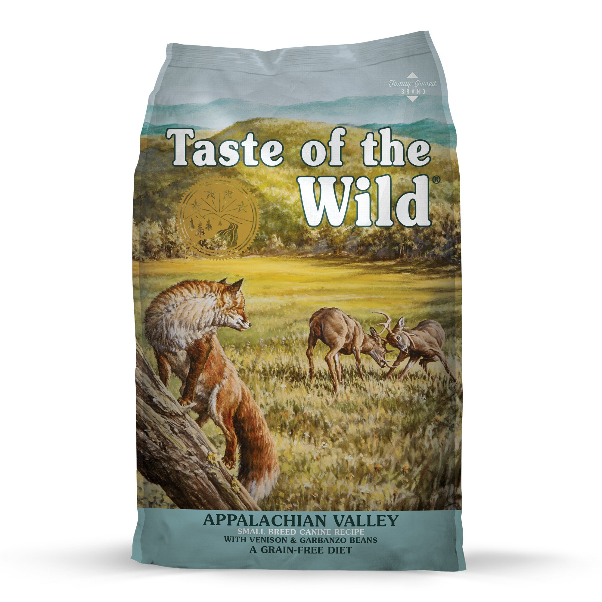 Taste of the Wild Appalachian Valley Small Breed Grain-Free Roasted Venison Dry Dog Food, 5 lbs.
