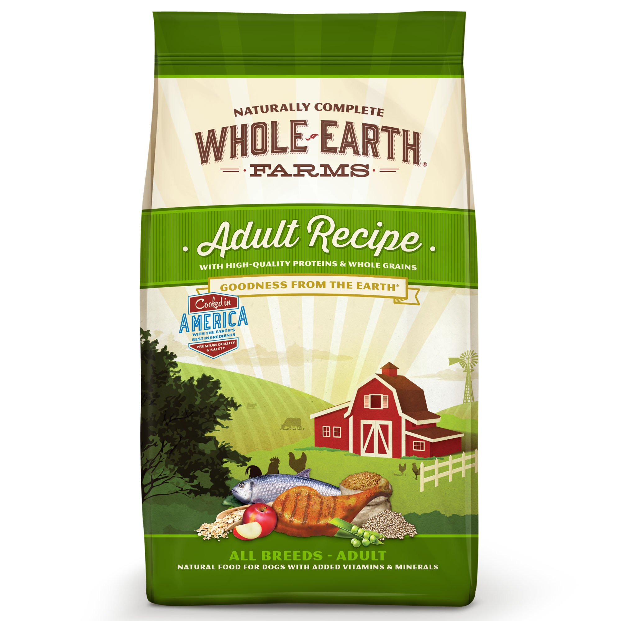 Whole Earth Farms Adult Dog Dry Food, 4 lbs.