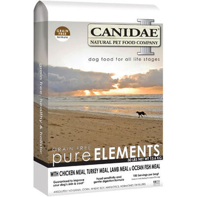 Canidae Grain Free Pure Elements Dry Dog Food 24 lb