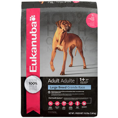 Eukanuba Large Breed Adult Dry Dog Food 16 lb