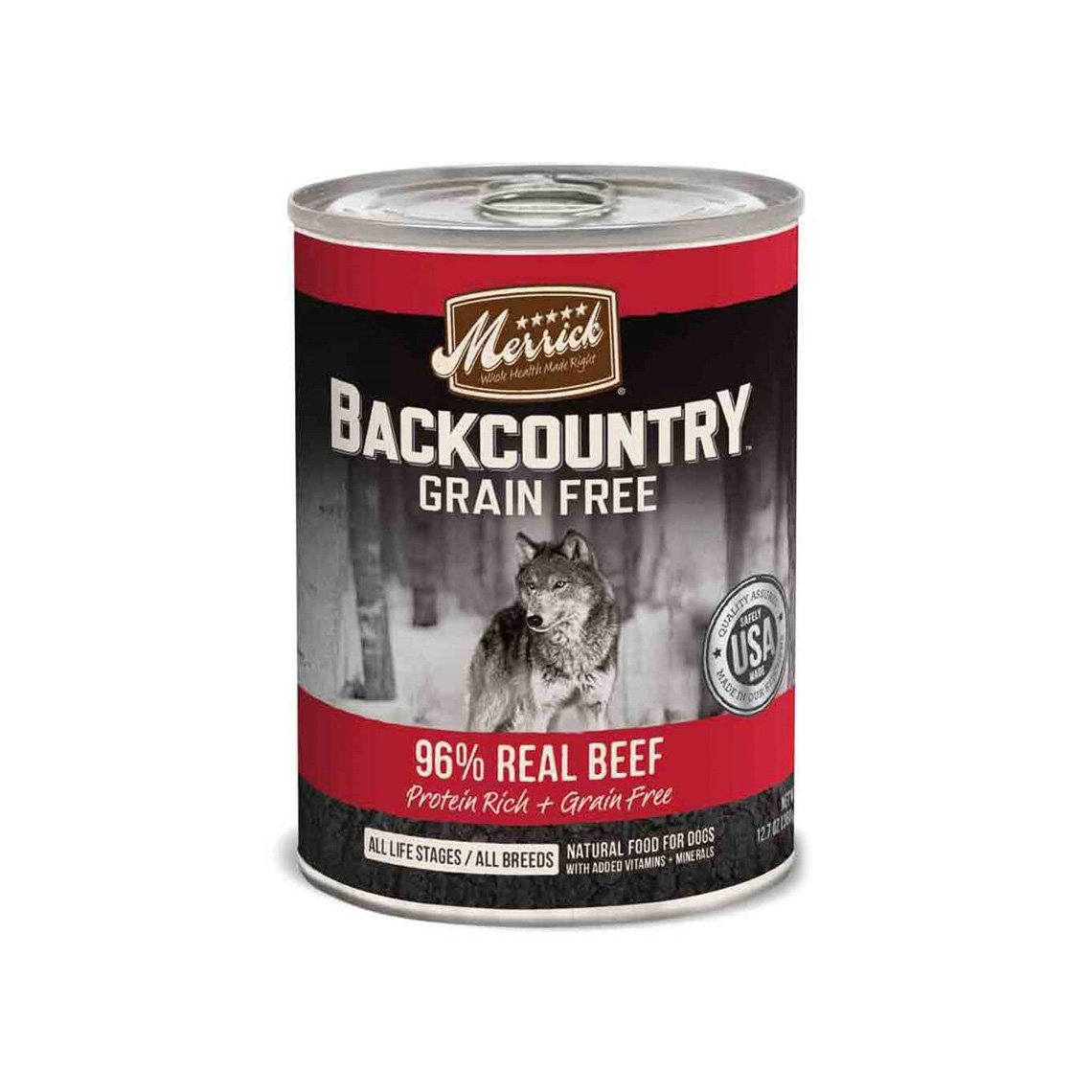 Merrick Backcountry 96% Real Meat Canned Dog Food