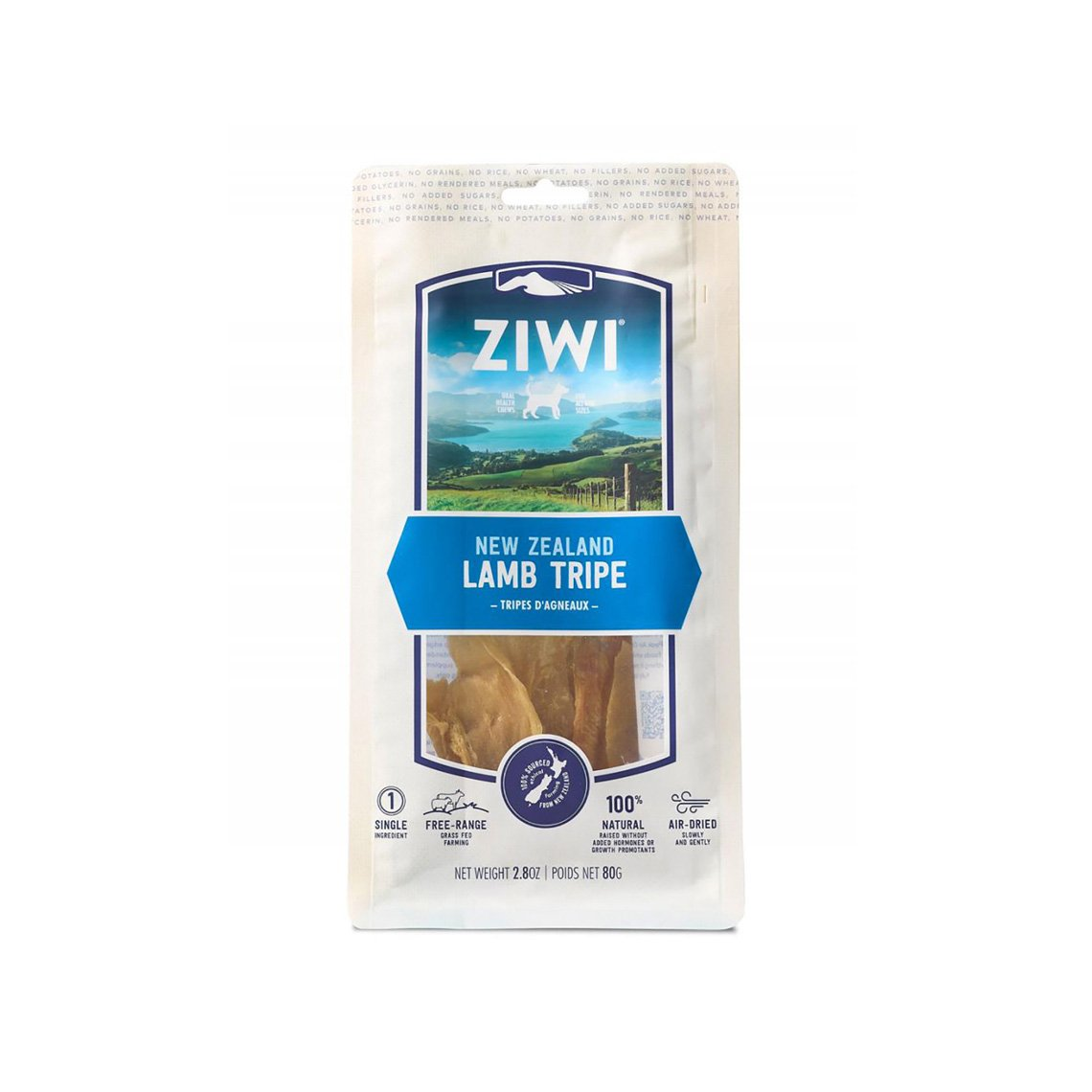 Ziwi New Zealand Lamb Tripe Natural Chew for Dogs