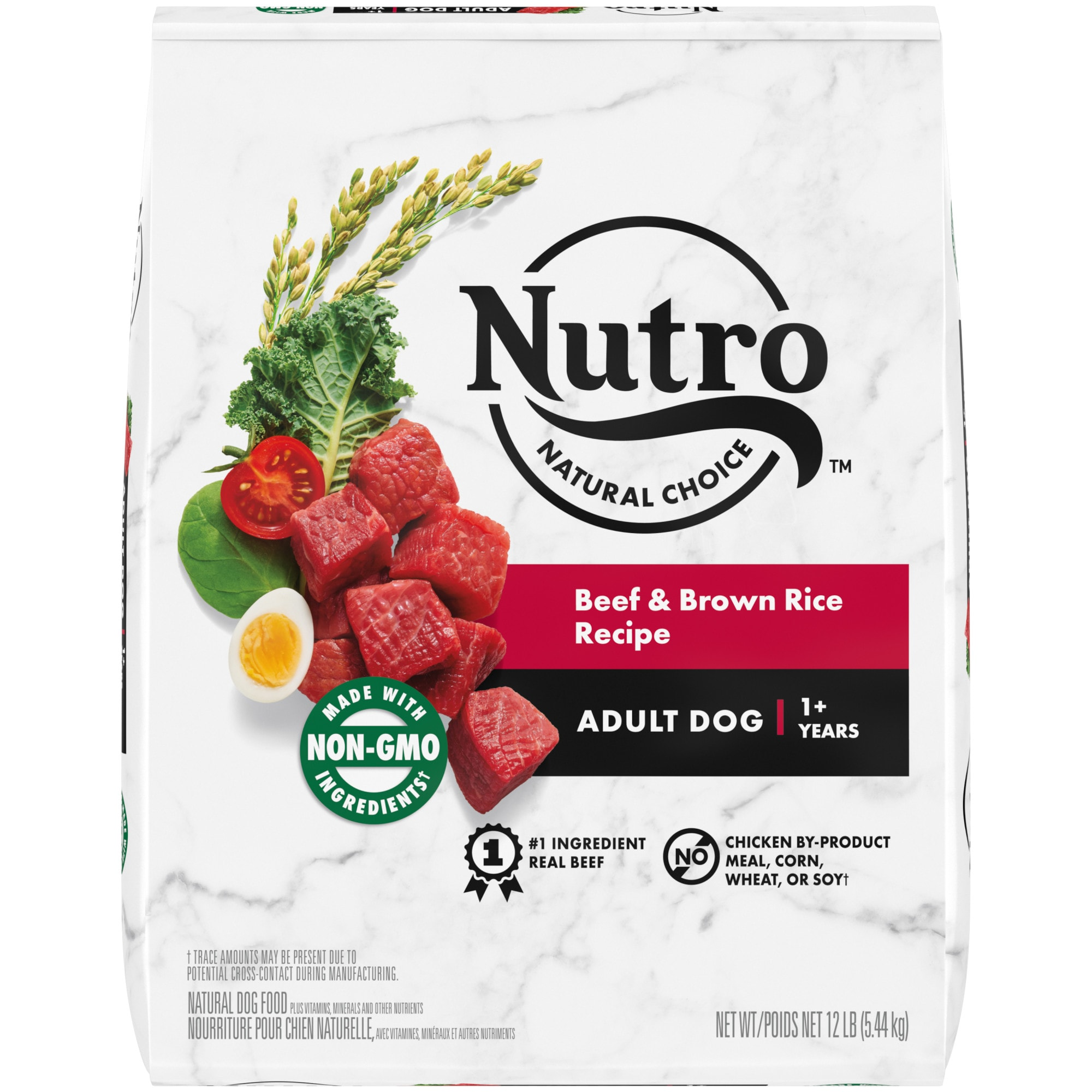 Nutro Natural Choice Beef & Brown Rice Recipe Adult Natural Dry Dog Food