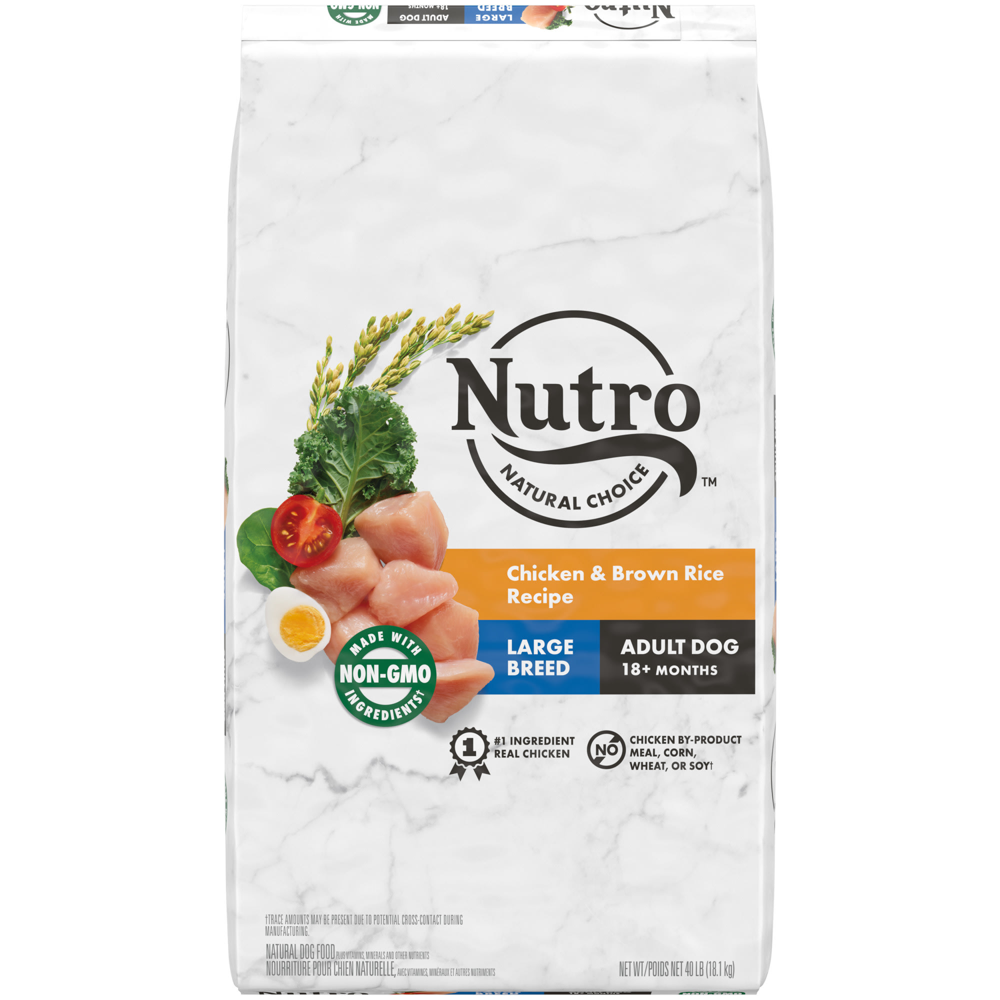 Nutro Natural Choice Chicken & Brown Rice Recipe Large Breed Adult Dry Dog