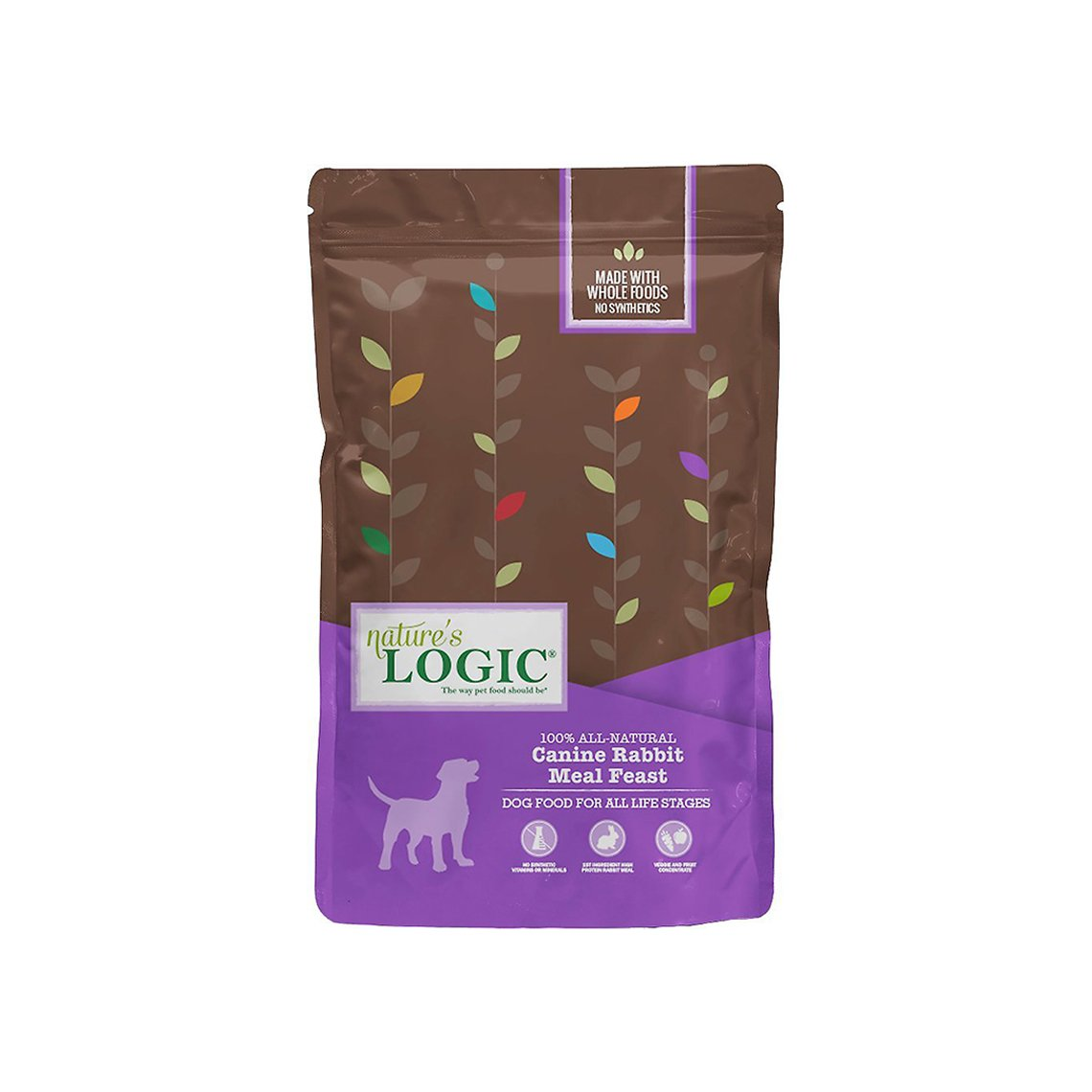 Nature's Logic Original Rabbit Meal Feast Dry Food for Dogs
