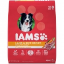 Iams ProActive Health High Protein with Lamb and Rice Adult Dry Dog Food, 30 lbs.
