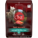 Purina ONE High Protein Natural True Instinct With Real Salmon & Tuna Dry Dog Food